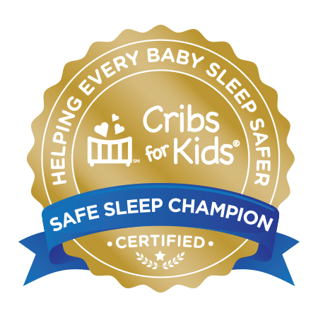 Cribs for Kids: Helping Every Baby Sleep Safer gold seal graphic